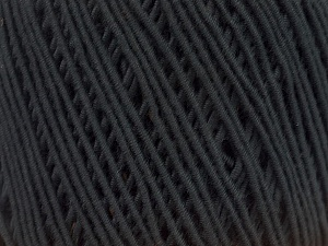 Fiber Content 94% Cotton, 6% Polyamide, Brand Ice Yarns, Black, fnt2-46689