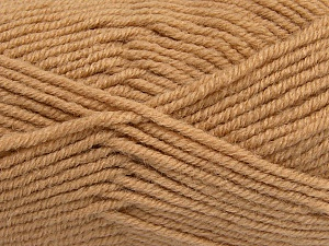 Fiber Content 50% Acrylic, 25% Wool, 25% Alpaca, Brand ICE, Cafe Latte, Yarn Thickness 5 Bulky  Chunky, Craft, Rug, fnt2-47136