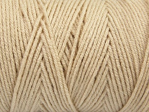 Items made with this yarn are machine washable & dryable. Fiber Content 100% Dralon Acrylic, Light Beige, Brand ICE, Yarn Thickness 4 Medium  Worsted, Afghan, Aran, fnt2-47178
