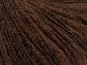 Fiber Content 60% Merino Wool, 40% Acrylic, Brand ICE, Brown, Yarn Thickness 4 Medium  Worsted, Afghan, Aran, fnt2-47249