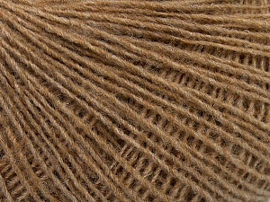 Fiber Content 70% Acrylic, 30% Wool, Light Brown, Brand ICE, Yarn Thickness 2 Fine  Sport, Baby, fnt2-47450