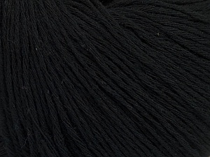 Fiber Content 100% Cotton, Brand ICE, Black, Yarn Thickness 1 SuperFine  Sock, Fingering, Baby, fnt2-47511