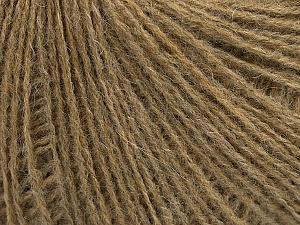 Fiber Content 70% Acrylic, 30% Wool, Light Brown Melange, Brand ICE, Yarn Thickness 2 Fine  Sport, Baby, fnt2-47760