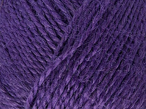 Fiber Content 100% Hemp Yarn, Purple, Brand ICE, Yarn Thickness 3 Light  DK, Light, Worsted, fnt2-47908