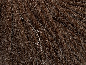 Fiber Content 50% Merino Wool, 25% Alpaca, 25% Acrylic, Brand ICE, Brown, Yarn Thickness 6 SuperBulky  Bulky, Roving, fnt2-48179