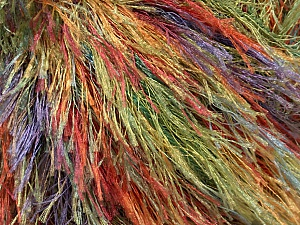 Fiber Content 100% Polyester, Rainbow, Brand ICE, Yarn Thickness 5 Bulky  Chunky, Craft, Rug, fnt2-48240