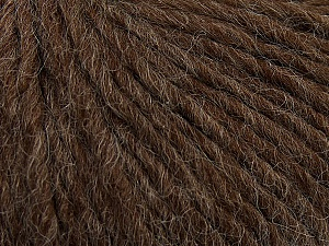 Fiber Content 50% Merino Wool, 25% Alpaca, 25% Acrylic, Brand Ice Yarns, Brown, Yarn Thickness 5 Bulky  Chunky, Craft, Rug, fnt2-48698