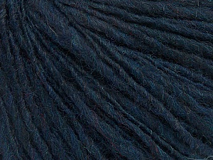 Fiber Content 60% Acrylic, 40% Wool, Navy, Brand ICE, Yarn Thickness 3 Light  DK, Light, Worsted, fnt2-48745