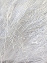 Fiber Content 100% Polyester, White, Brand KUKA, Yarn Thickness 5 Bulky  Chunky, Craft, Rug, fnt2-20780