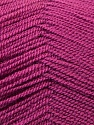 Very thin yarn. It is spinned as two threads. So you will knit as two threads. Fiber Content 100% Acrylic, Brand ICE, Dark Rose Pink, Yarn Thickness 1 SuperFine  Sock, Fingering, Baby, fnt2-22453