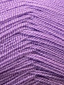Very thin yarn. It is spinned as two threads. So you will knit as two threads. Fiber Content 100% Acrylic, Lilac, Brand ICE, Yarn Thickness 1 SuperFine  Sock, Fingering, Baby, fnt2-22457