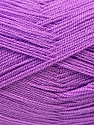 Very thin yarn. It is spinned as two threads. So you will knit as two threads. Fiber Content 100% Acrylic, Lavender, Brand ICE, Yarn Thickness 1 SuperFine  Sock, Fingering, Baby, fnt2-22458
