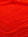Very thin yarn. It is spinned as two threads. So you will knit as two threads. Fiber Content 100% Acrylic, Orange, Brand ICE, Yarn Thickness 1 SuperFine  Sock, Fingering, Baby, fnt2-22461