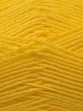 Fine Weight  Fiber Content 100% Acrylic, Yellow, Brand ICE, Yarn Thickness 2 Fine  Sport, Baby, fnt2-24517