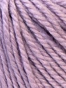 Fiber Content 40% Acrylic, 35% Wool, 25% Alpaca, Lilac, Brand ICE, Yarn Thickness 5 Bulky  Chunky, Craft, Rug, fnt2-25403