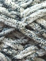 Chenille loops appears when black threads are used for knitting. Fiber Content 90% Micro Fiber, 10% Polyester, White, Brand ICE, Grey, Yarn Thickness 5 Bulky  Chunky, Craft, Rug, fnt2-29155