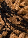 Fiber Content 85% Acrylic, 15% Polyester, Light Brown, Brand ICE, Black, Yarn Thickness 5 Bulky  Chunky, Craft, Rug, fnt2-31291
