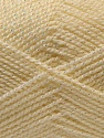 Fiber Content 94% Acrylic, 6% Lurex, Irridescent, Brand ICE, Cream, Yarn Thickness 3 Light  DK, Light, Worsted, fnt2-33128