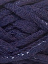 Fiber Content 45% Wool, 45% Acrylic, 10% Lurex, Silver, Purple, Brand ICE, Yarn Thickness 6 SuperBulky  Bulky, Roving, fnt2-33505