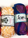 Please note that the weight and yardage information for this lot is approximate Scarf Yarns, Brand Ice Yarns, Yarn Thickness 6 SuperBulky  Bulky, Roving, fnt2-34786