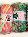 Please note that the weight and yardage information for this lot is approximate Scarf Yarns, Brand Ice Yarns, Yarn Thickness 6 SuperBulky  Bulky, Roving, fnt2-34789