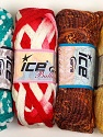 Please note that the weight and yardage information for this lot is approximate Scarf Yarns, Brand Ice Yarns, Yarn Thickness 6 SuperBulky  Bulky, Roving, fnt2-34792