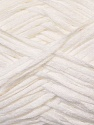 Fiber Content 50% Cotton, 50% Acrylic, White, Brand ICE, Yarn Thickness 3 Light  DK, Light, Worsted, fnt2-34901
