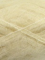 Fiber Content 70% Mohair, 30% Acrylic, Brand ICE, Cream, Yarn Thickness 3 Light  DK, Light, Worsted, fnt2-35047