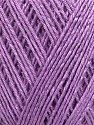 Fiber Content 100% Bamboo, Lilac, Brand ICE, Yarn Thickness 2 Fine  Sport, Baby, fnt2-35225