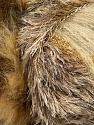 Fiber Content 7% Metallic Lurex, 60% Polyamide, 5% Mohair, 18% Acrylic, 10% Polyester, Brand ICE, Gold, Cream, Brown Shades, Yarn Thickness 5 Bulky  Chunky, Craft, Rug, fnt2-35499