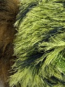 Fiber Content 7% Metallic Lurex, 60% Polyamide, 5% Mohair, 18% Acrylic, 10% Polyester, Brand ICE, Green Shades, Brown, Yarn Thickness 5 Bulky  Chunky, Craft, Rug, fnt2-35501