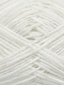 Fiber Content 60% Acrylic, 40% Wool, White, Brand ICE, Yarn Thickness 3 Light  DK, Light, Worsted, fnt2-35550