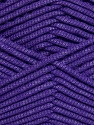 This is a tube-like yarn with soft fleece inside. Fiber Content 73% Viscose, 27% Polyester, Purple, Brand ICE, Yarn Thickness 5 Bulky  Chunky, Craft, Rug, fnt2-35609