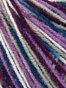 Fiber Content 100% Acrylic, White, Maroon, Lilac, Brand ICE, Blue, Yarn Thickness 2 Fine  Sport, Baby, fnt2-35660