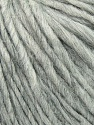 Fiber Content 35% Acrylic, 30% Wool, 20% Alpaca Superfine, 15% Viscose, Light Grey Melange, Brand ICE, Yarn Thickness 5 Bulky  Chunky, Craft, Rug, fnt2-35721