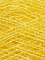 Fiber Content 60% Polyester, 40% Lurex, Yellow, Brand ICE, Yarn Thickness 5 Bulky  Chunky, Craft, Rug, fnt2-35776