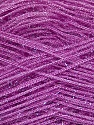 Fiber Content 60% Polyester, 40% Lurex, Lavender, Brand ICE, Yarn Thickness 5 Bulky  Chunky, Craft, Rug, fnt2-35788