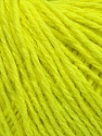 Fiber Content 50% Wool, 50% Acrylic, Neon Yellow, Brand ICE, Yarn Thickness 4 Medium  Worsted, Afghan, Aran, fnt2-35918