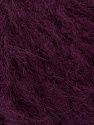 Fiber Content 45% Acrylic, 25% Wool, 20% Mohair, 10% Polyamide, Maroon, Brand ICE, Yarn Thickness 4 Medium  Worsted, Afghan, Aran, fnt2-35982