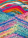 One skein is enough to make a baby blanket. Weight and yardage information may change +-5% Fiber Content 80% Acrylic, 20% Polyester, Pink, Orange, Brand ICE, Green, Blue, Yarn Thickness 3 Light  DK, Light, Worsted, fnt2-36076