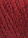 Fiber Content 50% Metallic Lurex, 30% Cotton, 20% Acrylic, Red, Brand ICE, Yarn Thickness 2 Fine  Sport, Baby, fnt2-36077