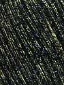 Fiber Content 65% Polyester, 35% Metallic Lurex, Light Green, Brand ICE, Black, Yarn Thickness 4 Medium  Worsted, Afghan, Aran, fnt2-36172
