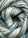 Fiber Content 70% Acrylic, 5% Lurex, 25% Angora, White, Brand ICE, Grey Shades, Yarn Thickness 2 Fine  Sport, Baby, fnt2-36284