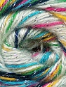 Fiber Content 70% Acrylic, 5% Lurex, 25% Angora, White, Turquoise, Pink, Brand ICE, Green, Black, Yarn Thickness 2 Fine  Sport, Baby, fnt2-36289