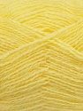 Fiber Content 70% Acrylic, 30% Angora, Light Yellow, Brand ICE, Yarn Thickness 2 Fine  Sport, Baby, fnt2-36440
