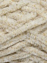 Fiber Content 95% Micro Fiber, 5% Lurex, Brand ICE, Gold, Cream, Yarn Thickness 5 Bulky  Chunky, Craft, Rug, fnt2-36481