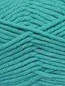 Fiber Content 50% Acrylic, 50% Wool, Light Turquoise, Brand ICE, fnt2-36514