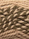 Fiber Content 65% Acrylic, 35% Wool, Rose Brown, Brand ICE, Camel, Yarn Thickness 6 SuperBulky  Bulky, Roving, fnt2-36603
