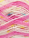 Fiber Content 90% Acrylic, 10% Polyamide, Yellow, White, Pink Shades, Brand ICE, Blue, fnt2-37355