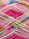 Fiber Content 90% Acrylic, 10% Polyamide, Turquoise, Pink Shades, Brand ICE, Green, Fuchsia, fnt2-37356